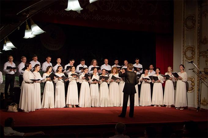 """Capela  Corală Academică """"Doina"""" a Filarmonicii Naţionale din Chişinău – Republica  Moldova – dirijor Ilona Stepan"""