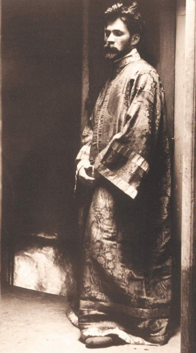 Cântăreţ de strană, la Paris, Biserica Ortodoxă Română