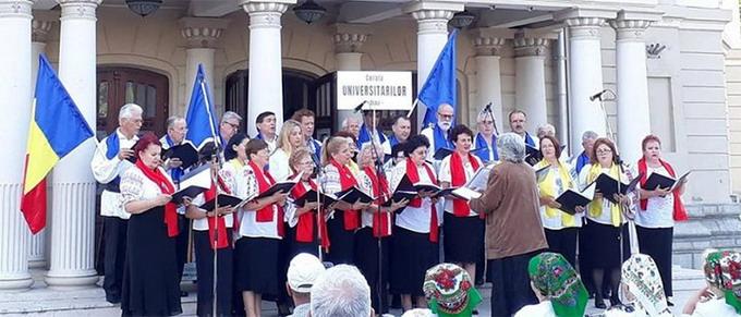Corala Universitarilor Clujeni - dirijor prof. Doina Miclea