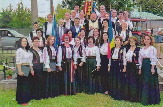 Corul mixt Ştefan Andronic din Vulturu, Vrancea  - dirijor prof. dr. Dumitru Săndulachi