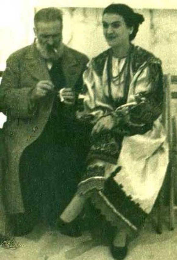 Constantin Brâncuşi şi Maria Tănase