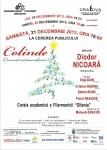 """Trei zile de concert extraordinar de colinde la Filarmonica """"Oltenia"""""""