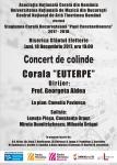Concert de colinde Corala Euterpe