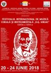 """Festivalul internaţional de muzică corală și instrumentală """"D.G. Kiriac"""""""