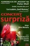 Concert surpriză alături de Corul