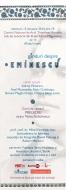 Ganduri despre Eminescu - spectacol de muzica si poezie
