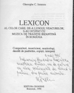 100 de ani de la nașterea profesorului GHEORGHE C. IONESCU, dirijor şi muzicolog-bizantinolog
