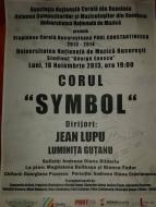 Corul Symbol - Concert in cadrul Stagiunii Corale Bucureștene
