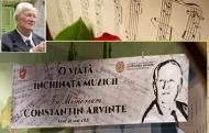 Omagiu de suflet maestrului Constantin Arvinte