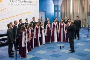 "Corala Appassionato, pe podiumul Festivalului ""Ohrid Choir"""