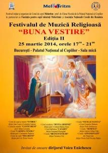 Festivalul de Muzica Religioasa Buna Vestire