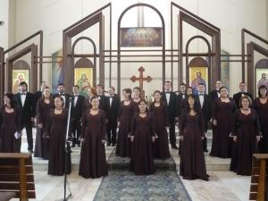 Cântări religioase în zi de sărbătoare