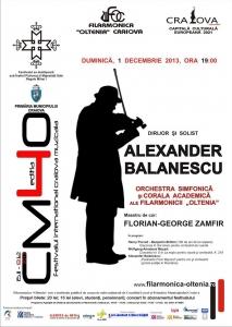 Corala Academică a Filarmonicii Oltenia, concert în cadrul Festivalului Craiova Muzicală