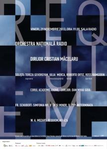 Corul Academic Radio prezintă Requiem-ul de W. A. Mozart