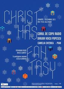Christmas Fantasy - Concert de colinde al Corului de Copii Radio