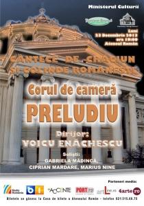 Corul de Camera PRELUDIU - Concert de colinde si cantece de Craciun