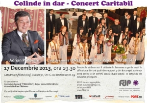 Colinde in dar - Concert Caritabil sustinut de Corul Preludiu