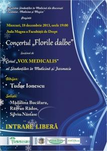 Florile dalbe - Concert al Corului